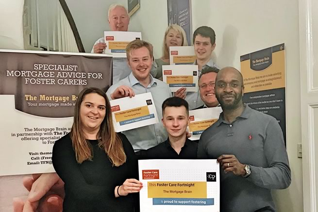 We are The Mortgage Brain and We are Proud to Support Fostering